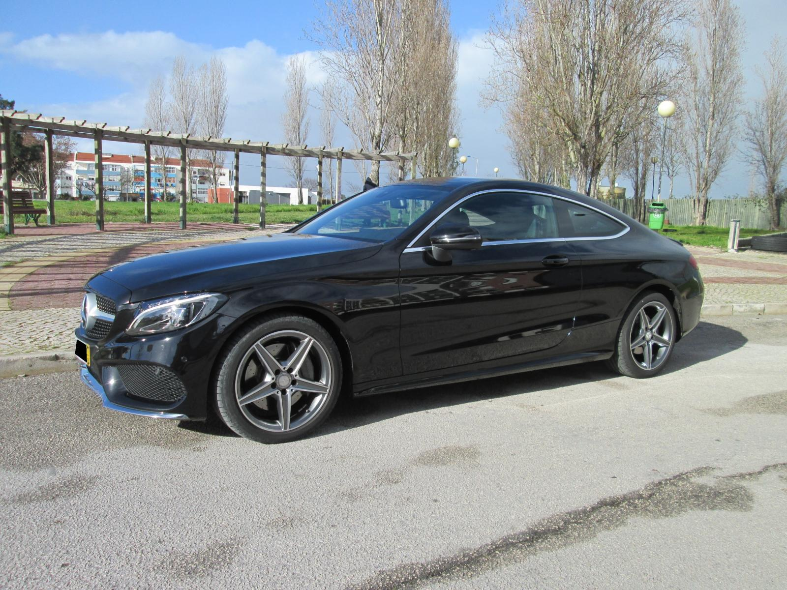 Mercedes-Benz- C 250 d Coupe AMG Cx Auto