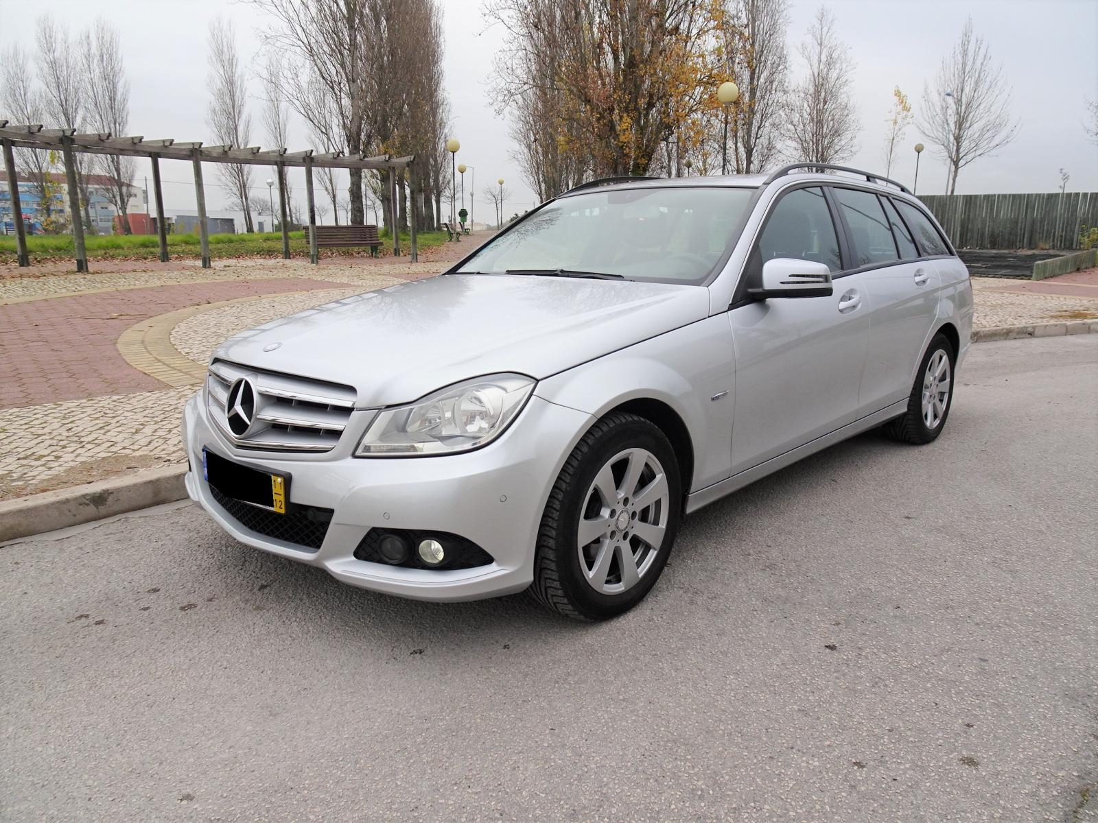 Mercedes-Benz-C 200 CDI BlueEFFICIENCY St