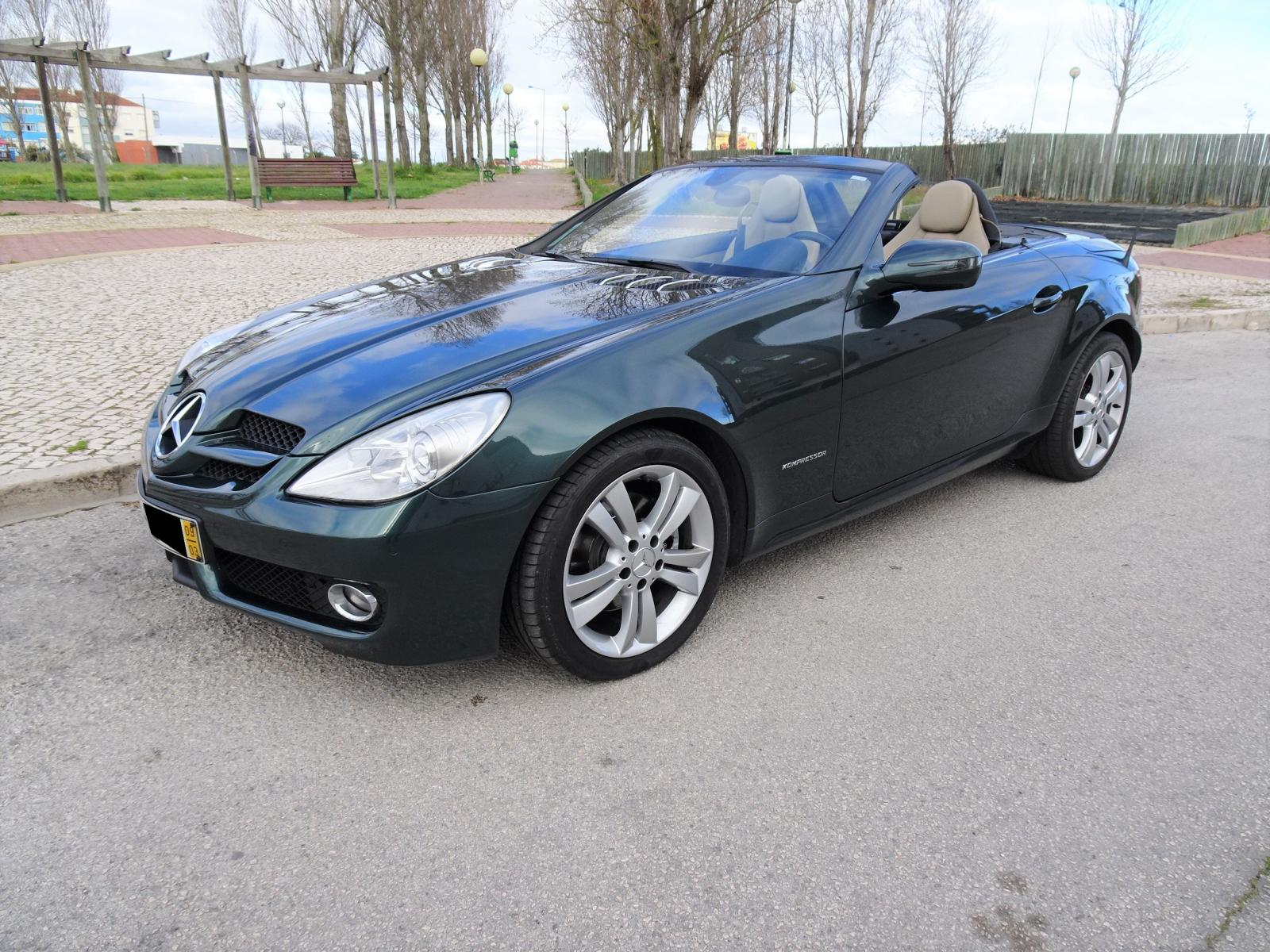 Mercedes-Benz-SLK 200 Kompressor Cx. Aut.