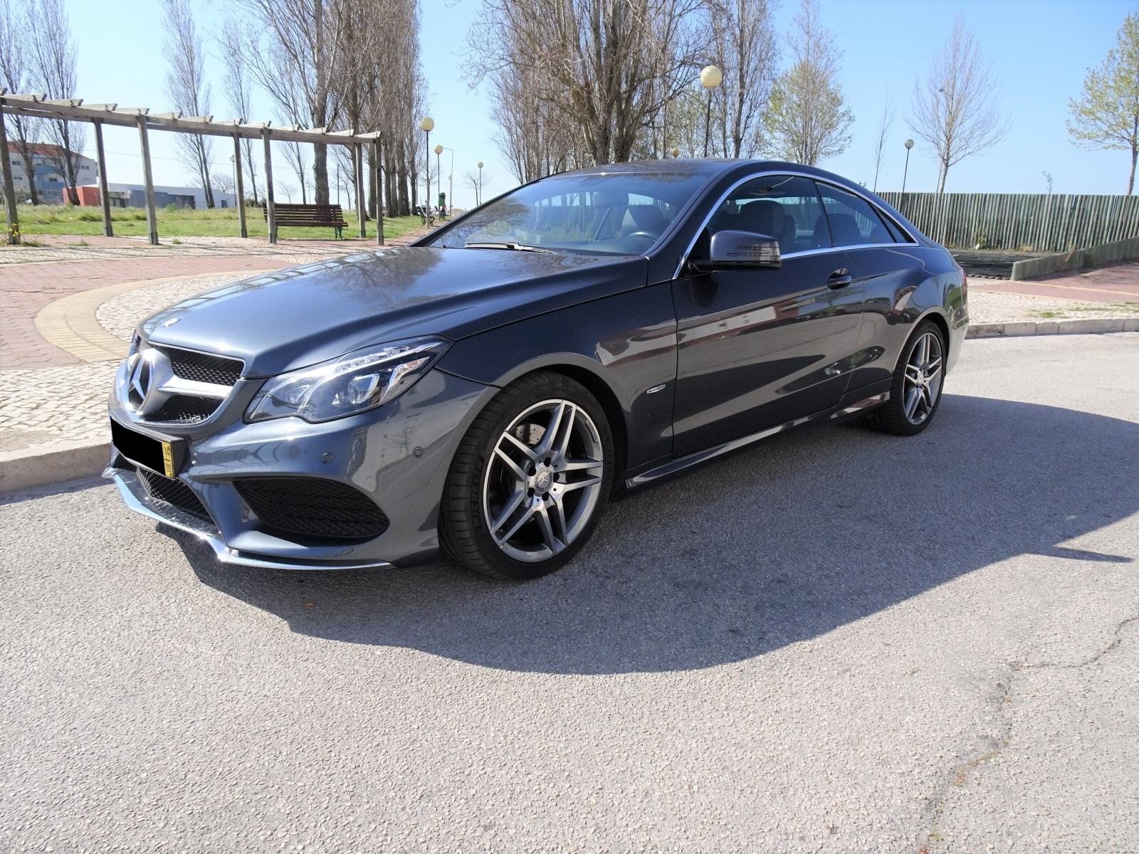 Mercedes-Benz-E 250 BlueTEC Coupe AMG Cx Auto 9Gtronic
