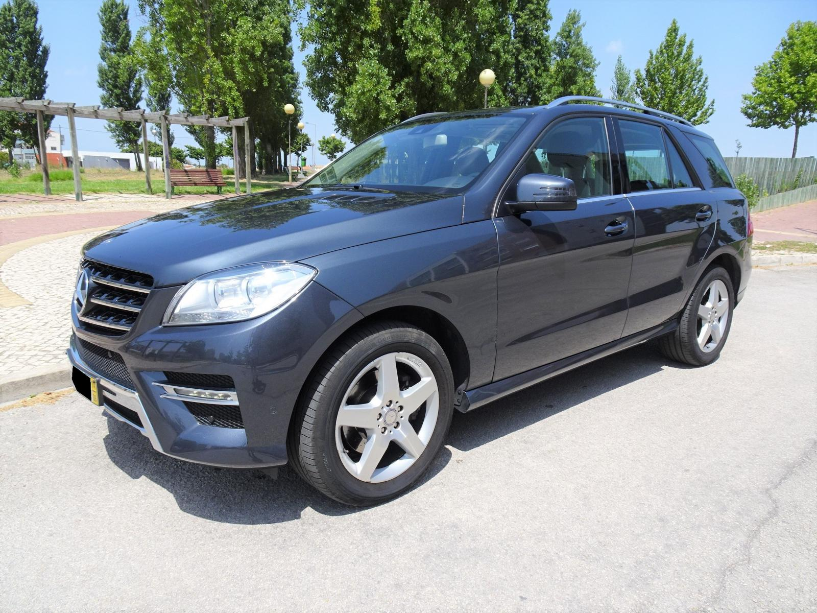Mercedes-Benz-ML 250 BlueTEC 4MATIC AMG