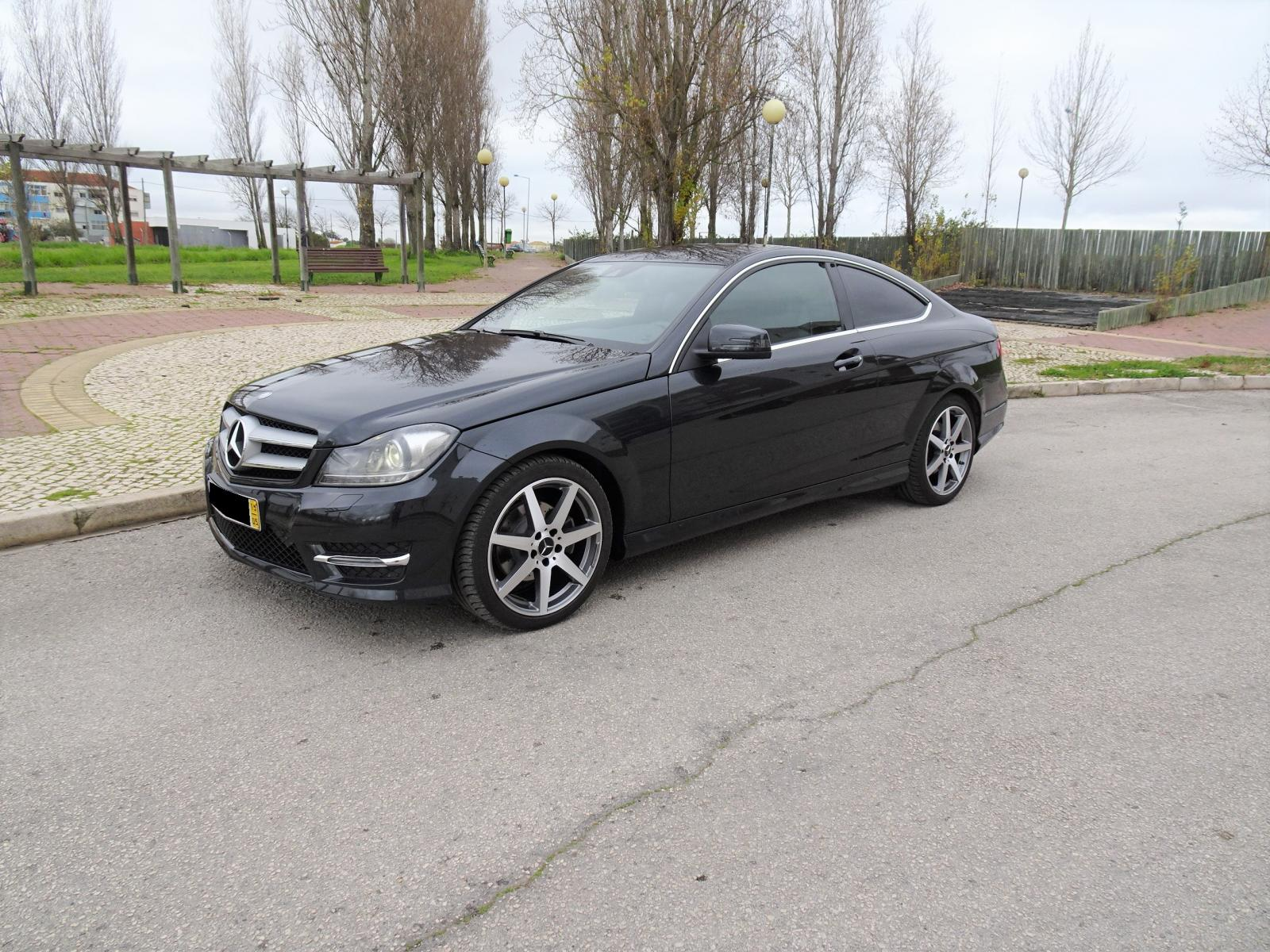 Mercedes-Benz-C 250 CDI Coupe AMG Cx Auto 7G-Tronic